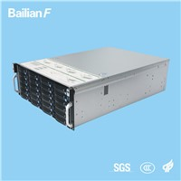 Rage Server for Movie, Media, Songs, Games, Monitor. 4u 24-Disk Hot Swap Chassis Chinese Shenzhen Manufacturer High Perf
