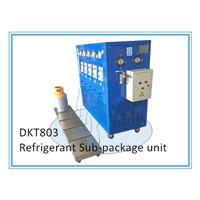 DKT80-3 3HP Refrigerant Sub-Package Recovery Recharge Machine