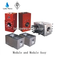 Triplex Mud Pump Fluid End Module