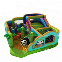 Inflatable Sports Game Adults & Kids Land Inflatable Obstacle Course