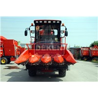 China 4 Rows Corn Combine Harvester