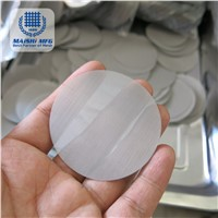 Silver Stainless Steel Wire Net Filter Disc
