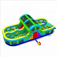Playground Sports Games Inflatable Obstacle Course