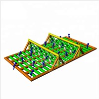 5K Giant Inflatable Sport Running Obstacle Game for Challenge Obstacle Race Inflatable Game