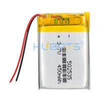 Hubats Lithium Polymer Battery 502535 450mAh MP3 MP4 MP5 GPS Bluetooth 5*25*35mm Battery Small Stereo Digital Product