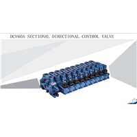 Hydraulic Sectional Directional Control Valve DCV60
