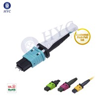 MPO/MTP Connector 16 32 Fiber Optic Patch Cable HYC Manufacturer