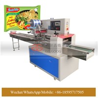 Automatic Horizontal Biscuit Packaging Machine, Instant Noodle Packing Machine for Sale