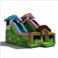 Farm Bouncy Castle for Children Outdoor Commercial Bunny Inflatable Bouncer with Slide