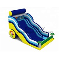 Little Outdoor Inflatable Games Customized Inflatable Commercial Slide