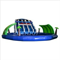 Playground Use Commercial Children Blow up Pool Slide Giant Inflatable Water Park for Adult
