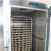 Bakery Bread Proofer Proofing Room. Bread Production Line