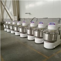 Commercial Flour Powder 2 Speed Spiral Flour Mixing Machine Dough Mixer Factory Direct Sale Spiral Dough Mixer with Good