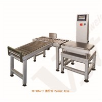 High Accuracy Fish Potato Weight Sorting Machine Check Weigher 60kg