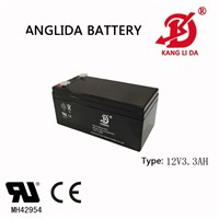 12v 3.3ah Storage Battery y with 19 Years Manufacturer Experience
