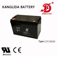 Kanglida12v 100ah Rechargeable Sealed Lead Acid Battery