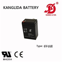 Kanglida 6v4ah Storage Battery Deep Cycle Battery