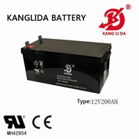 Solar Power System, Wind Power System12v200ah Lead Acid Battery