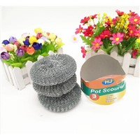 Pot Scourers Mesh Rolls for Kichen Cleaning Balls