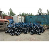 marine anchor chain grade 3 size 78mm stud chain in stock