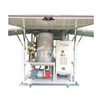 PLC Controlled Full Automatic Transformer Oil Purifier Machine