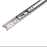 Folding Ball Bearing Drawer Slide for Furniture Usage