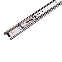 Telescopic Ball Bearing Full Extention 3 Folds Drawer Slide