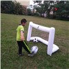 PVC Inflatable Football Door Toys Sell Well In Europe & America with Tennis Ball Frame Gifts Can Be Customized