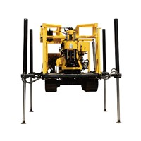 XYD-130 Crawler Drilling Machine/Rock Core Sample Drilling Rig/Water Well Drill Rig Quality Is Guaranteed In Stock