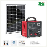 30W Portable DC Solar Power System