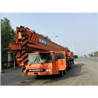 KATO Crane 50 Ton NK500E Truck Cranes Made in Japan Cheap