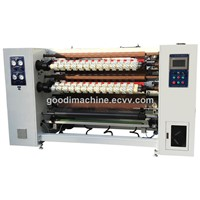 Super Clear BOPP Adhesive Packing Tape Rewinding Cutting Machine
