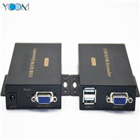 VGA USB KVM Extender over Single Cat5e/6