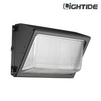 120W DLC Qualified Semi Cutoff LED Wall Packs Lights Security Lighting, 100-277vac, 5 Yrs Warranty