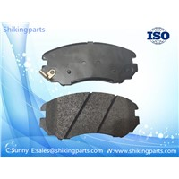 D924 Hyundai Brake Pad, Semi Metallic Brake Lining, Good Wear-Resisting