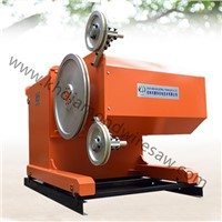 New Hydraulic Cutting Marble Rock Diamond Wire Saw Machine