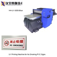 UV Printing Machine for No Smoking PVC Signs