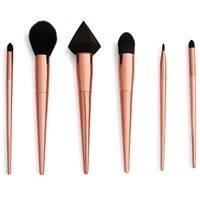 Customized Elegant Makeup Brush Set Rose Gold