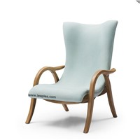 Danish Design for Hotel Furniture Leather Or Cloth Wooden Signature Chair.