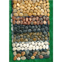 Colorful Pebble Cobble Tiles Garden Stone Tile