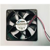 Fan, RDM1225B, 12V, Ball Bearing, Size 120x120x25mm