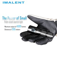 Imalent DM70 Powerful LED Flashlight 4500 Lumen & 306 Meters Beamdistance Outdoor Hiking Fishing Hunting