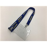 Manufacturer Factory Customized Polyester Ribbon Satin Lanyard for Keys & ID Card around Neck Safety Clip Buckle Metal