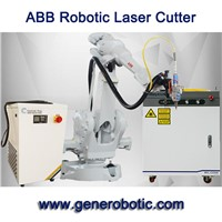 ABB Laser Cutting Robot Arm -GENE AUTOMATION -1000w Fiber Laser Robotic Cutter