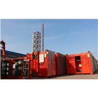 4t Load Double Cage SC200/200 Electric Construction Elevator Frequency Type Used in Philippines
