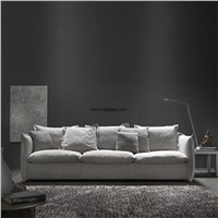 Relaxing Home Furniture Fabric Sofa Set Design with Split Latex Inside the Seat Cushion