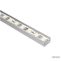 without PC Cover Silver 12VDC LED Rigid Strip Light Bar for Mesuem Lighting LN7535