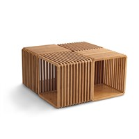 Slot Solid Bamboo Storage Unit