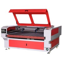 Small Laser Cutting Machine Light Convenient Double Heads Honeycomb Platform