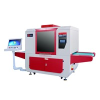 Unartificial Save Time Vamp Marking Machine / Drawing Comprehensive Machine